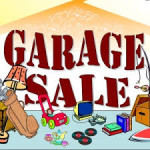 Garage Sale Announcement