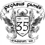 Pegasus Games 35th Birthday Logo